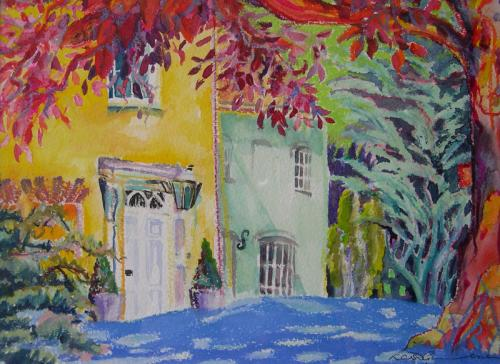 Speen Grange 1 Mixed Media SOLD