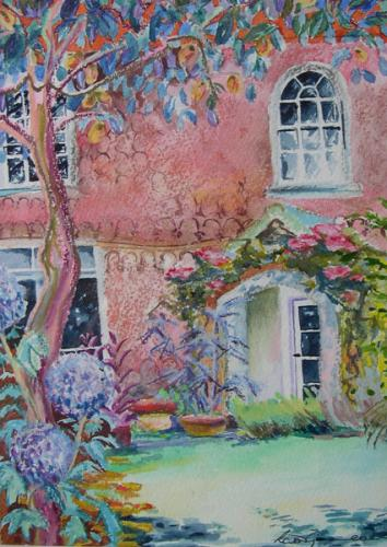 Speen Grange 2 Mixed media SOLD