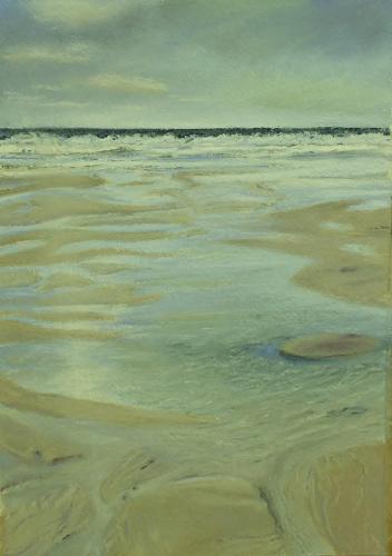 St Ives. Chalk Pastel 21 x 12cm